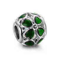 Шарм pandora Клевер green