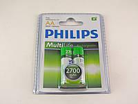 Аккумулятор Philips NiMH AA  2700mAh 1,2V, фото 1