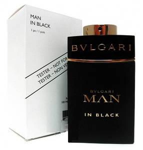 Bvlgari Man In Black парфюмированная вода 100 ml. (Тестер Булгари Мен Ин Блэк)