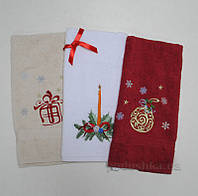 Новогодний набор полотенец (3 шт)