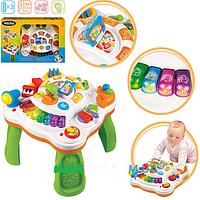 Детский игровой  развивающий столик многофункциональный Weina (2092)
