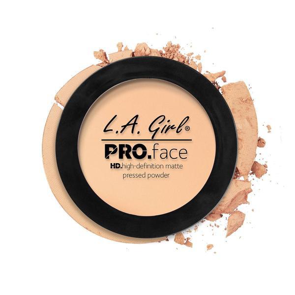 L.A.Girl GPP 603 Pro Face Pressed Powder Porcelain - Матовая пудра для лица, 7 г