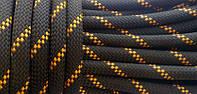 [28м] Верёвка статическая высокопрочная 10мм чёрная Tendon Static 48