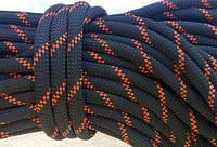 [38м] Верёвка статическая высокопрочная 10мм чёрная Tendon Static 48