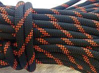 [39м] Верёвка статическая высокопрочная 11мм чёрная Tendon Static 48