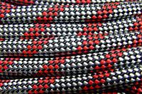 [50м] Верёвка статическая высокопрочная 10мм «Альпика» (класс А) цветная 2790кг Валтекс