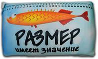 Антистрессовая подушка 40х25см 3K Fish «Рыбалка» Размер имеет значение