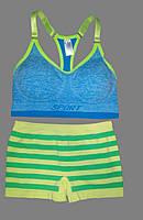Набор для Спорта-Pole Dance:Топ + шорты (M/L)