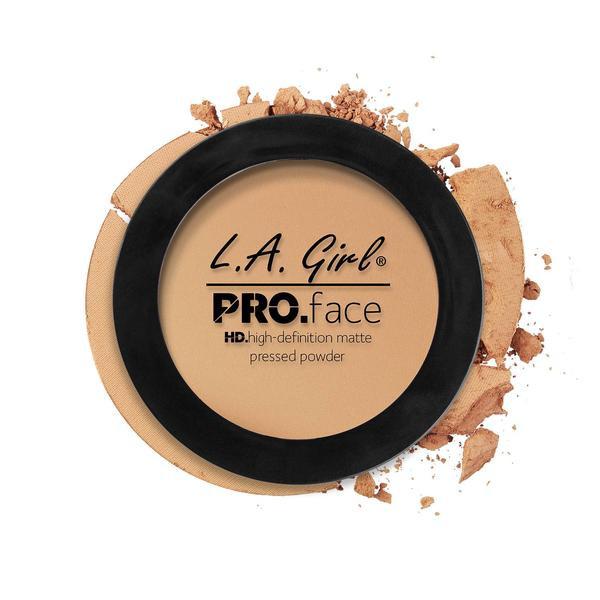 L.A.Girl GPP 608 Pro Face Pressed Powder Soft Honey - Матовая пудра для лица, 7 г