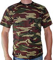 Мужская футболка военная Лес