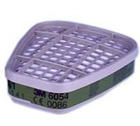 Фильтр угольный к респиратору 3M  от органических паров, аммиака и подобных веществ  6054