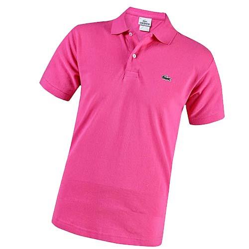 Женская футболка поло Ла Коста розовая