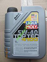 Масло LIQUI MOLY top tec 4100 Евро-4 синтетика 1л.