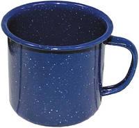 Кружка 350мл эмалированная синяя MFH 33386