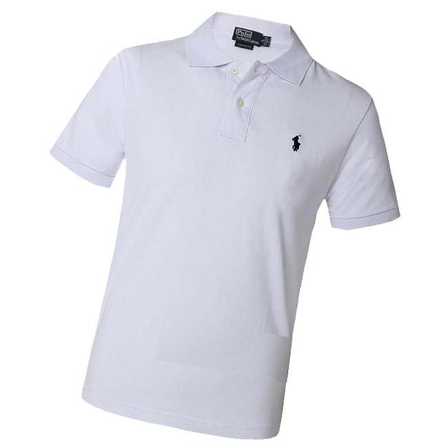 Белая футболка Ральф Лаурен белая для девушек