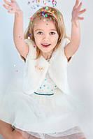Детская меховая накидка для девочки