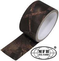 Скотч коричневый охотничий камуфляж 5см 5м MFH 28331G