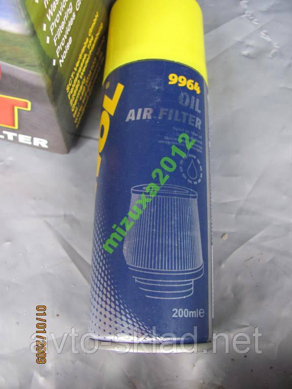 Пропитка для воздушных фильтров нулевого сопротивл