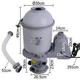 Пісочний фільтруючий насос Bestway 58199, 5678 л/год, фото 8