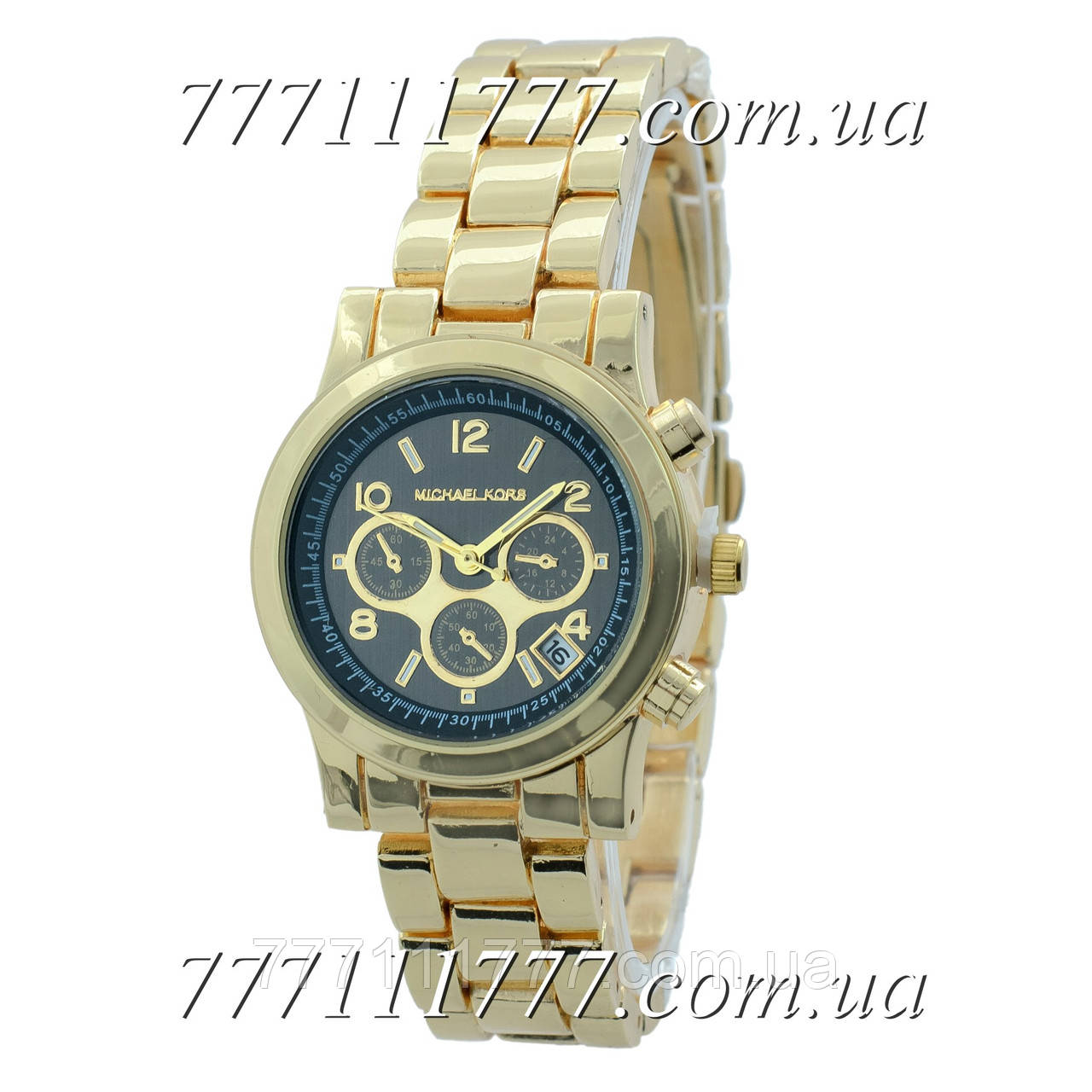 61bc1239d696 Часы мужские наручные Майкл Корс MK-10279 Gold-Black  продажа, цена ...