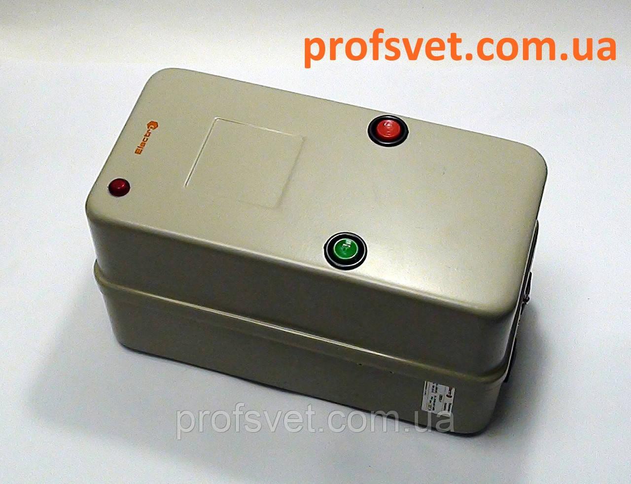 Пускатель ПМЛ-К 65А корпус IP54 реле и кнопки