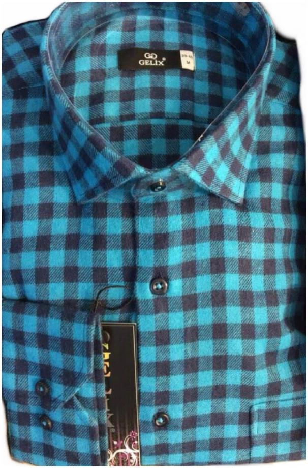 Клетчатая мужская рубашка недорого Одесса
