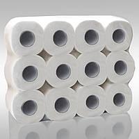Туалетная бумага 16м натурал 2слойная мягкая с ламинацией Eco Point 24рул/уп, фото 1