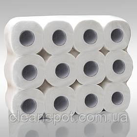 Туалетний папір 18м 2слойная м'яка з ламінацією Eco Point 24рул/уп