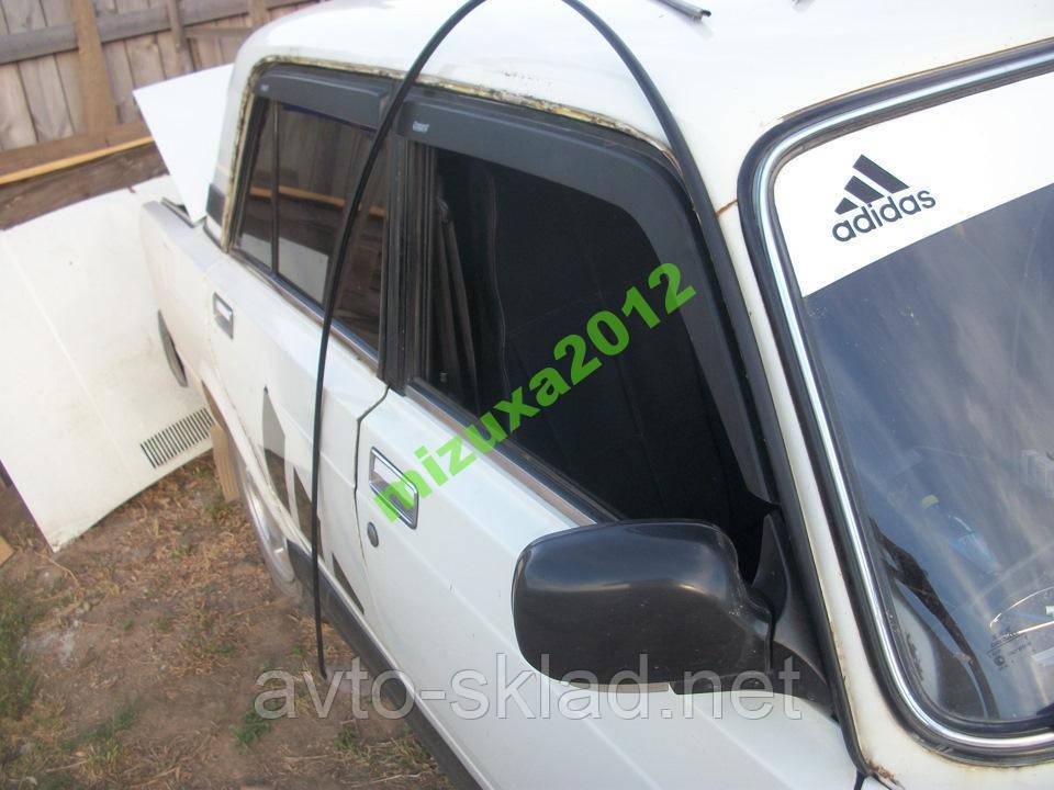 Водосток (удочки) ВАЗ 2101-2107 пара 220см черные