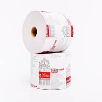 Туалетная бумага макулатурная серая Mirus Эконом на гильзе 45 метров, фото 1