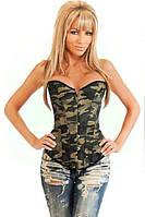 """Корсет женский утягивающий моделирующий, корсет на грудь """"Милитари"""". Разные размеры и разные цвета."""