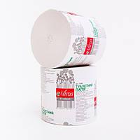 Туалетная бумага макулат Эконом Mirus 45 метров без гильзы 24рул/уп