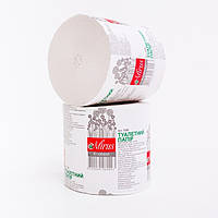 Туалетная бумага макулатурная Эконом Mirus 45 метров без гильзы, фото 1