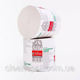 Туалетний папір макулатурний Економ Mirus 45 метрів без гільзи