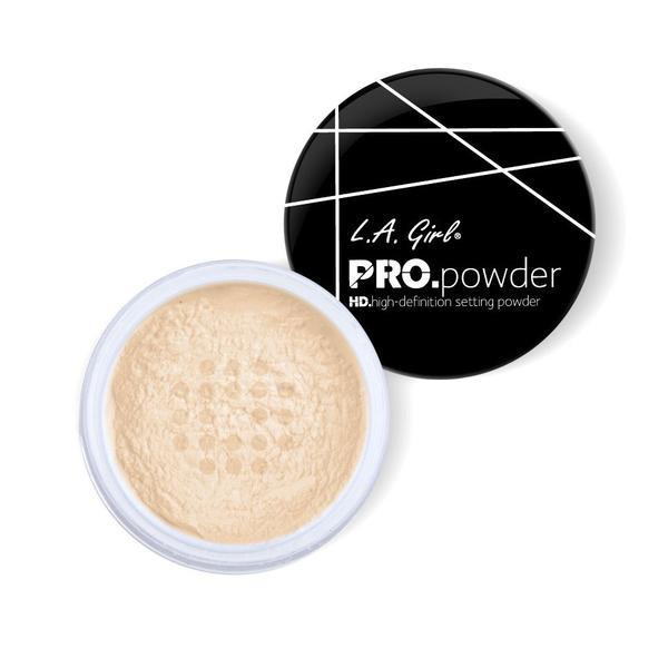 L.A.Girl GPP 920 Pro Powder HD Setting Powder Banana Yellow - Рассыпчатая пудра для лица, 5 г