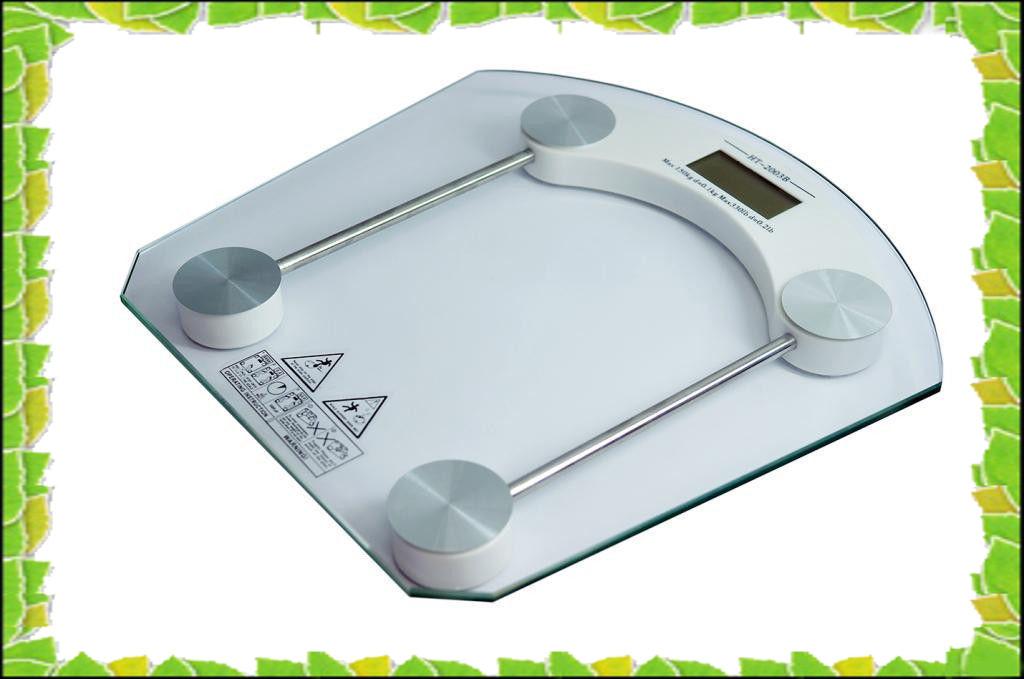 Весы напольные квадратные стеклянные до 150кг