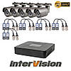 Комплект видеонаблюдения KIT-541W Intervision