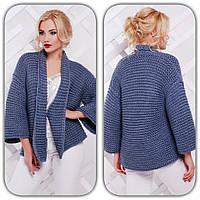 Женский короткий пиджак н-4709206
