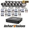 Комплект видеонаблюдения KIT-741W Intervision