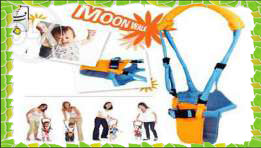 Вожжи - ХОДУНКИ Moon Walk Basket Type Toddler Belt
