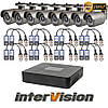 Комплект видеонаблюдения KIT-841W Intervision