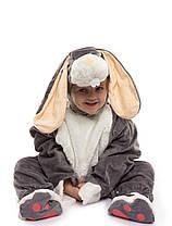 Карнавальный костюм Серого Зайчика. Для детей от 0,5 до 2,5 лет, фото 3