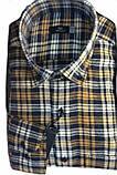 Рубашка мужская Gelix 1184 в клетку синяя, фото 9