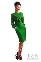Платье CAVALLI  зеленый