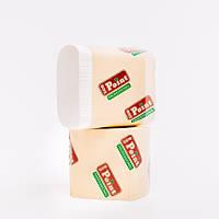 Листовая туалетная бумага гладкая 300шт целлюлоза Eco Point