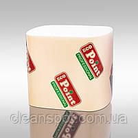Листовая туалетная бумага гладкая 3сл 200шт Eco Point, фото 2