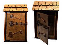 Ключница деревянная Малая