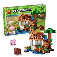 "Конструктор Lele Minecraft 79289 ""Ветряная мельница"""