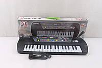 Детское электронное пианино MQ 868 USB с микрофоном, ЖК дисплей, упаковка 76х8х23 см