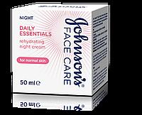 Ночной увлажняющий крем Johnson's® Daily Essentials для нормальной кожи